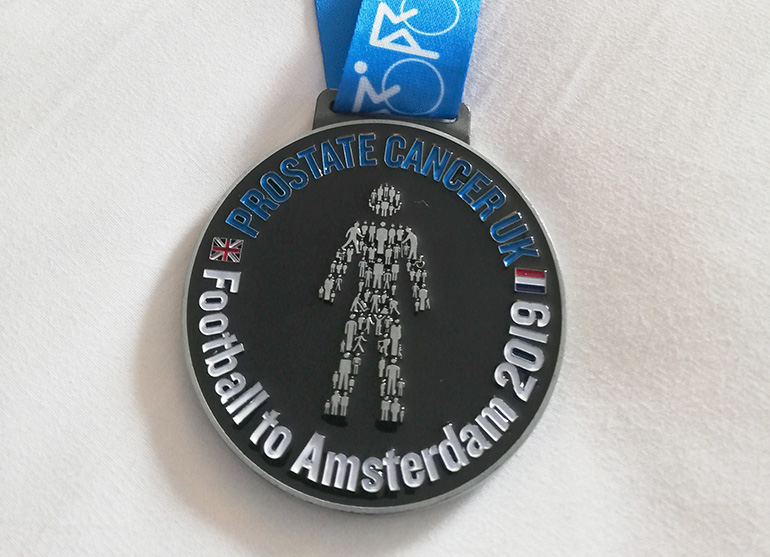 Lee Burton Prostate Cancer Fundraising Medal